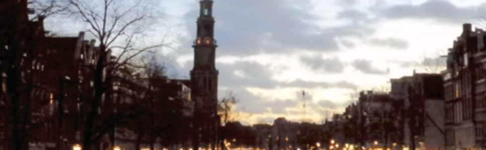 Reeds verschenen: 'Aan de Amsterdamse Grachten'